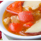Smoky Roasted Potato and Red Bell Pepper Soup