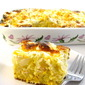 The Most Decadent Cornbread Casserole Ever Made Skinny!