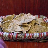 Semi-Homemade Whole Wheat Pita Chips