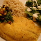 Say no to Spanx and yes to Cornmeal Crusted Tilapia!