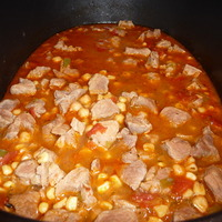 Pork & Corn Chili