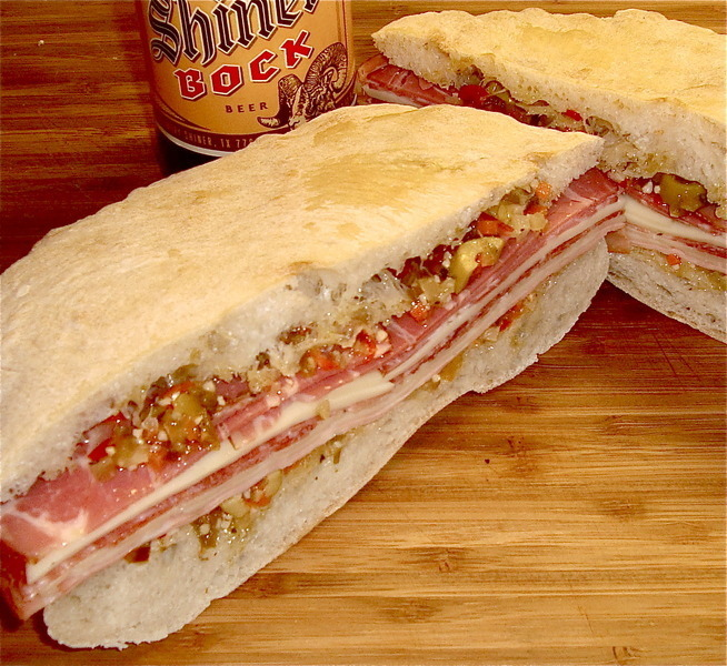 Classic New Orleans Muffuletta Sandwich Recipes — Dishmaps