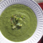 Broccoli Soup with Leeks and Thyme