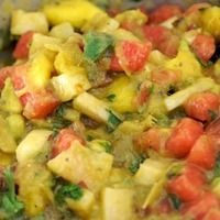 Image of Avocado, Tomato And Mango Salsa Recipe, Cook Eat Share