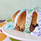 Mardi Gras King Cake with Strawberry Cream Cheese Filling