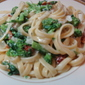 Fettuccini with Broccoli Rabe