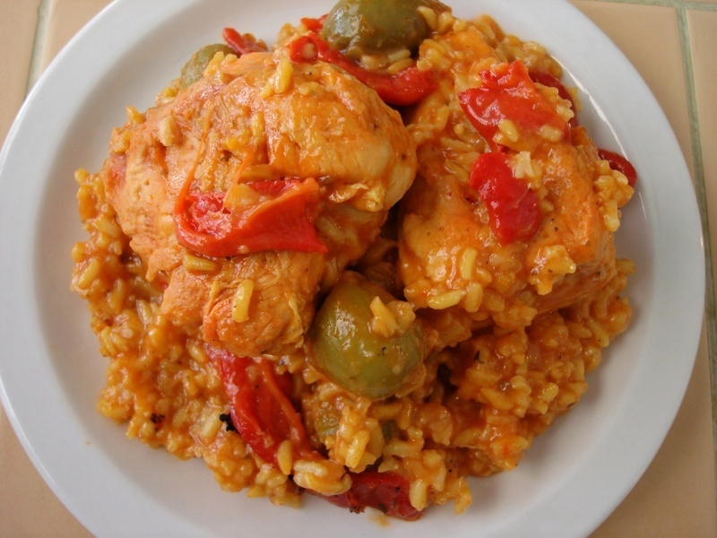 Arroz Con Pollo Recipe by Dana - CookEatShare