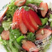 Bewitching Strawberries Salad