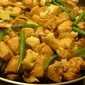 Ginger, Garlic and Basil Chicken Stir Fry.