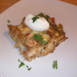 Mexican Chicken Casserole with Charred Tomato Salsa from Cooking Light Magazine, January/February 2011