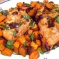 Spiced Chipotle Chicken Breasts w/ Sweet Potatoes