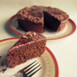 "Chocolate Buttermilk Pound Cake~For my ""Best Friend"""