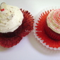 RED VELVET CUPCAKES AND CREAM CHEESE FROSTING