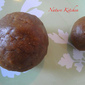 Sweet Jaggery balls (using wheat flour)