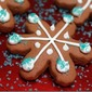 Gingerbread Snowflakes!