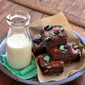Love To Fudge (Peppermint Cookies N' Cream Brownies)