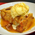 Warm Apple Bread Pudding