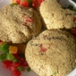 Glutenfree Eggless Oats & Almond Candied Fruit Cookie