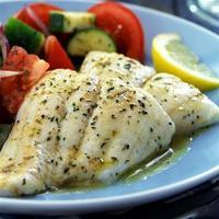 Herb Talapia with Garlic