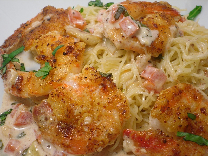 Shrimp Scampi with Angel Hair Pasta Recipe by Patricia - CookEatShare