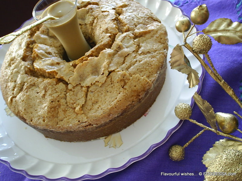 BUTTERSCOTCH pudding WHIP CREAM cake Recipe by Claudia ...