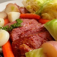 Corned Beef & Cabbage with a Tangy Glaze
