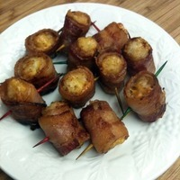 Bacon Wrapped Cheese Stuffed Tater Tots Recipe by Vicki - CookEatShare