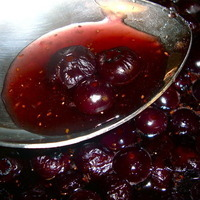 Maple Blueberry Spiced Syrup-Sauce-Compote
