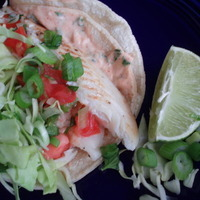 Fish Taco Sauce Recipe on Fish Tacos With Diablo Sauce Recipe   Cookeatshare