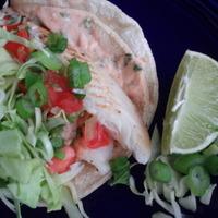 Fish Taco Sauce Recipe on Fish Tacos With Diablo Sauce Recipe   Cookeatshare