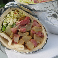 Corned Beef and cabbage warp