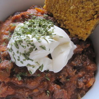 Image of Autumn Black Bean Soup Recipe, Cook Eat Share