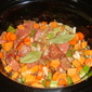 Guinness Beef Stew in the slow cooker
