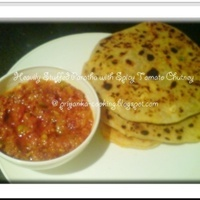 HEAVILY STUFFED PARATHA