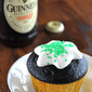 Dark Chocolate Guinness Cupcakes