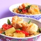 Pineapple Fried Rice with Prawns (Khow Pad Supparod Goong)