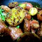 Spicy Rosemary Pan Roasted Potatoes