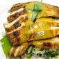 Orange Tarragon Chicken with orange sauce