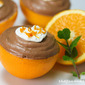 Chocolate Mousse-Filled Oranges