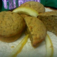 Image of Gluten/egg Free Fresh Lemon Ginger Muffins Recipe, Cook Eat Share