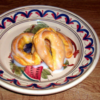 Image of A Frosted Taralli, Charmel Are An Easter Specialty Recipe, Cook Eat Share