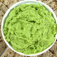 Image of Delicious Edamame, Spinach Hummus Recipe, Cook Eat Share