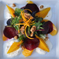 Citrus Salad with Roasted Beets, Ricotta and Candied Walnuts Recipe