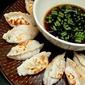 Fried Mushroom Dumplings