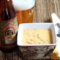 Image of Mighty Arrow Cheddar Soup Recipe, Cook Eat Share