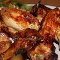 Image of Ali Di Pollo Al Forno - Cucina Cinese Recipe, Cook Eat Share
