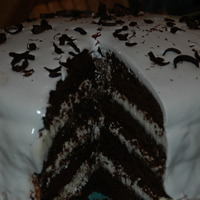 Image of Devil's Food Cake With Peppermint Frosting Recipe, Cook Eat Share