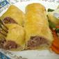 Sausage and apple rolls