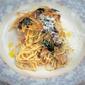 chicken and mushroom pasta bake (spaghetti tetrazzini)