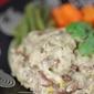 Isiphuphulu sikabhontshisi namazambane / Bean & potato dish